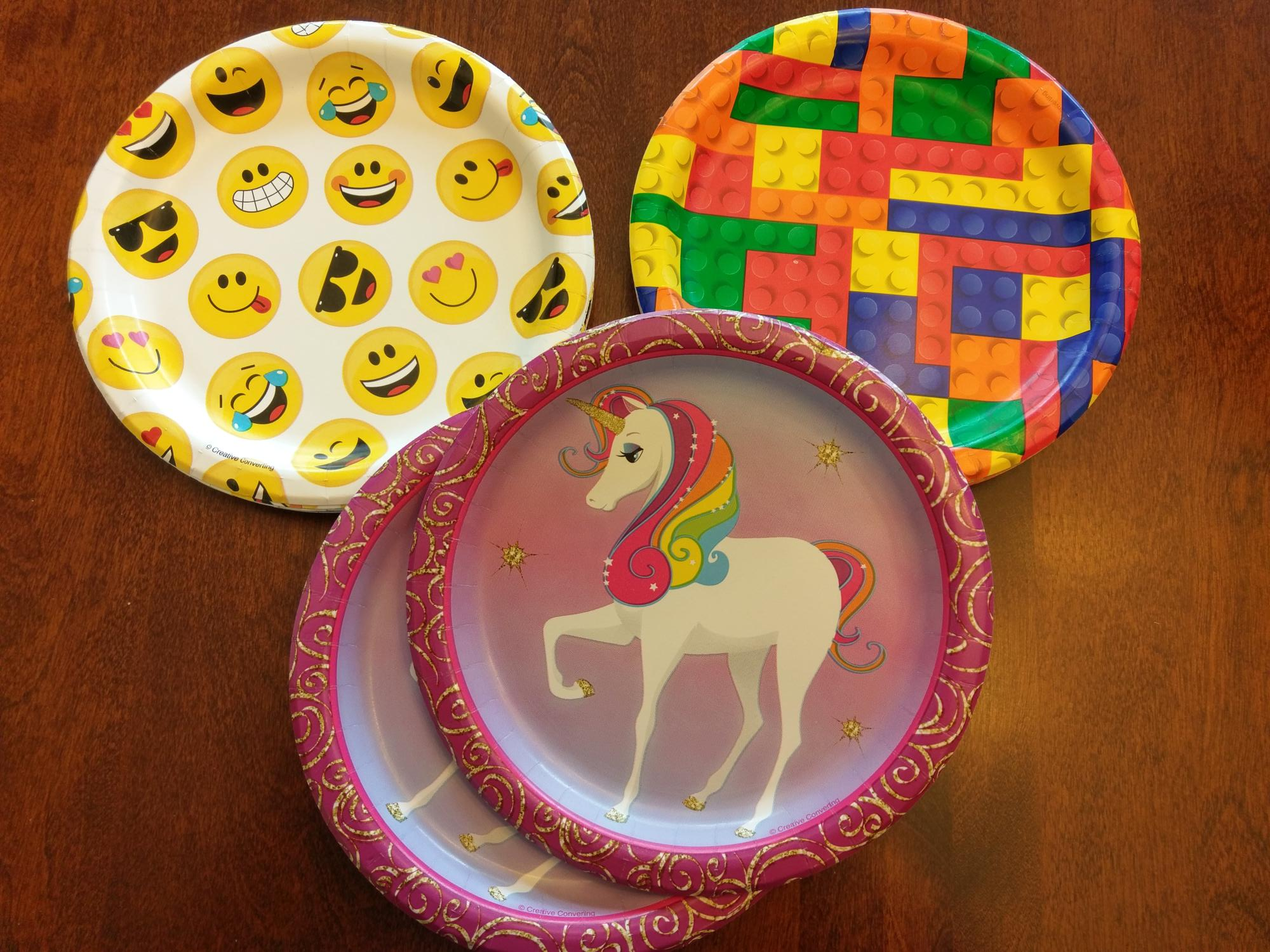 party plates image